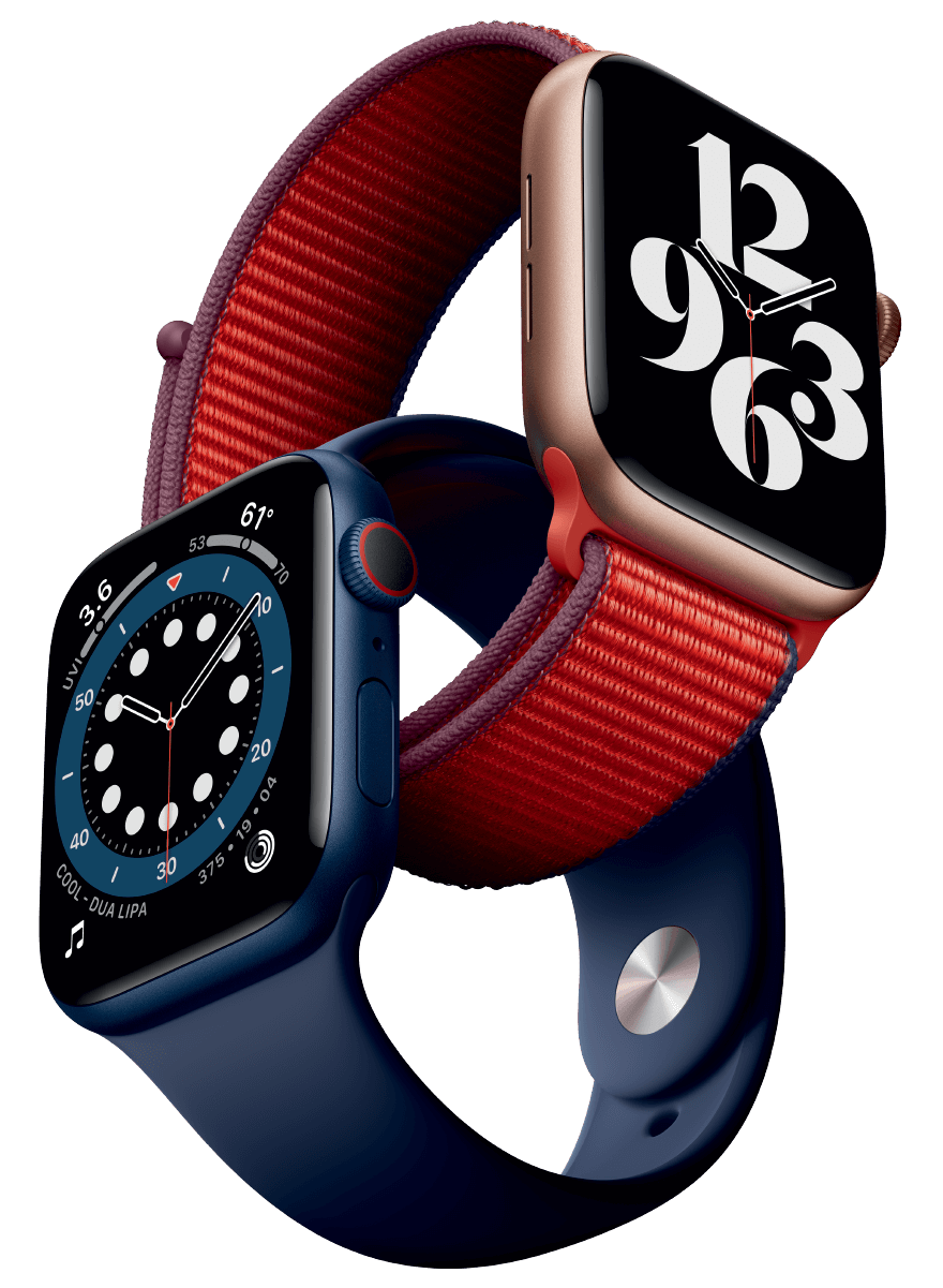 Interlocking Apple watches